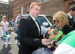 Neil Lennon is appointed as manager of Hibs