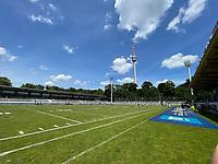 Innenraum des Gazi Stadions - Stuttgart: 27.06.2021: Stuttgart Surge vs. Frankfurt Galaxy, GaZi Stadion, ELF 2. Spieltag