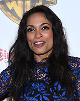 Rosario Dawson @ the photocall for WB films presentation held @ The Colosseum at Caesars Palace.<br /> March 29, 2017 , Las Vegas, USA. # CINEMA CON 2017 - PHOTOCALL WB STUDIOS