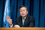 H.E. Mr. Kim Sook, Permanent Representative of the Republic of Korea and President of the Security Council for the month of February..