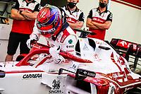 26th March 2021; Sakhir, Bahrain; F1 Grand Prix of Bahrain, Free Practice sessions;  RAIKKONEN Kimi (fin), Alfa Romeo Racing ORLEN C41 during Formula 1 Gulf Air Bahrain Grand Prix 2021