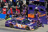 Monster Energy NASCAR Cup Series<br /> Alabama 500<br /> Talladega Superspeedway<br /> Talladega, AL USA<br /> Sunday 15 October 2017<br /> Denny Hamlin, Joe Gibbs Racing, FedEx Ground Toyota Camry<br /> World Copyright: Nigel Kinrade<br /> LAT Images