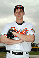 Feb 27, 2010; Tampa, FL, USA; Baltimore Orioles  pitcher Ross Wolf (56) during  photoday at Ed Smith Stadium. Mandatory Credit: Tomasso De Rosa