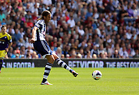Pictured: Jonas Olsson, captain for West Brom. Sunday 01 September 2013<br /> Re: Barclay's Premier League, West Bromwich Albion v Swansea City FC at The Hawthorns, Birmingham, UK.