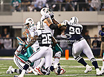 Dallas Cowboys nose tackle Jay Ratliff (90) in action during the Thanksgiving Day game between the Miami Dolphins and the Dallas Cowboys at the Cowboys Stadium in Arlington, Texas. Dallas defeats Miami 20 to 19...