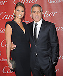 George Clooney and Stacy Keibler attends the 2012 Palm Springs International Film Festival Awards Gala held at The Palm Springs Convention Center in Palm Springs, California on January 07,2012                                                                               © 2012 Hollywood Press Agency