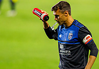 CARSON, CA - OCTOBER 14: Chris Wondolowski #8 of the San Jose Earthquakes during a game between San Jose Earthquakes and Los Angeles Galaxy at Dignity Heath Sports Park on October 14, 2020 in Carson, California.