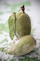 Gastronomie générale / Amandes Vertes Bio // General gastronomy / Organic Green Almonds
