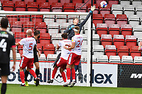 Jamie Cumming of Stevenage F.C. during Stevenage vs Salford City, Sky Bet EFL League 2 Football at the Lamex Stadium on 3rd October 2020