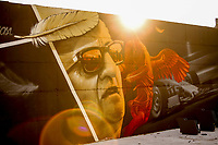 30th October 2020, Imola, Italy; FIA Formula 1 Grand Prix Emilia Romagna, inspection day;  Artwork pictured at Autodromo Enzo e Dino Ferrari Imola Italy