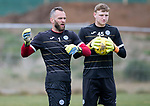 St Johnstone Training…12.05.17<br />Keeper Alan Mannus pictured during training today ahead of tomorrow's game against Partick Thistle<br />Picture by Graeme Hart.<br />Copyright Perthshire Picture Agency<br />Tel: 01738 623350  Mobile: 07990 594431