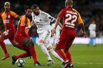 Real Madrid CF's Karim Benzema  during UEFA Champions League match, groups between Real Madrid and Galatasaray SK at Santiago Bernabeu Stadium in Madrid, Spain. November, Wednesday 06, 2019.(ALTERPHOTOS/Manu R.B.)