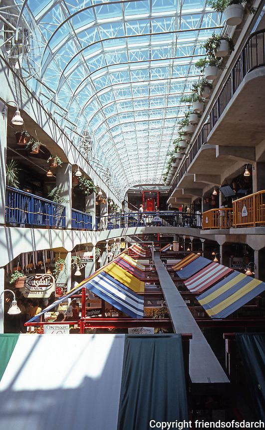 Vancouver: Lonsdale Quay Market--Interior--1986. North Vancouver. Photo '86.