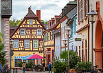 Germany, Baden-Wurttemberg, Offenburg: largest town of district Ortenaukreis - Ritterstasse in town centre   Deutschland, Baden-Wuerttemberg, Offenburg: groesste Stadt im Ortenaukreis - Ritterstrasse im Stadtzentrum