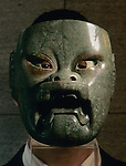 Olmec, Dumbarton Oaks Museum, Jade mask