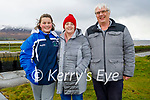 Enjoying a stroll in Lohercanon on Sunday, l to r: Ruth, Aileen and Denis Kelliher