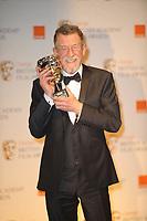 LONDON, ENGLAND - FEBRUARY 12:  Billy Bob Thornton, John Hurt CBE winner of Meryl Streep seen at the press room at Orange British Academy Film Awards 2012 at The Royal Opera House on February 12, 2012 in London, England<br /> <br /> People:    John Hurt CBE