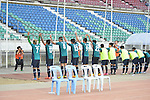 Post-Match Activity during the AFC CUP 2016 of the Group G Match Day 1 on 24 February 2016 Yanon United (MYA)  vs South China (HKG) at Youth Training Centre, Yangon  Photo by Power Sport Images