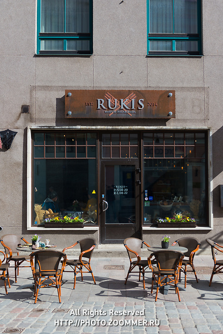 Rukis bakery and cafe in Tallinn old town