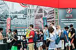 HSBC Hexagon Suite at the HSBC Sevens Village during the HSBC Hong Kong Rugby Sevens 2017 on 09 April 2017 in Hong Kong Stadium, Hong Kong, China. Photo by King Chung Fung / Power Sport Images