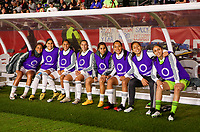 CARSON, CA - FEBRUARY 7: The Mexican Women's national team bench during a game between Mexico and USWNT at Dignity Health Sports Park on February 7, 2020 in Carson, California.