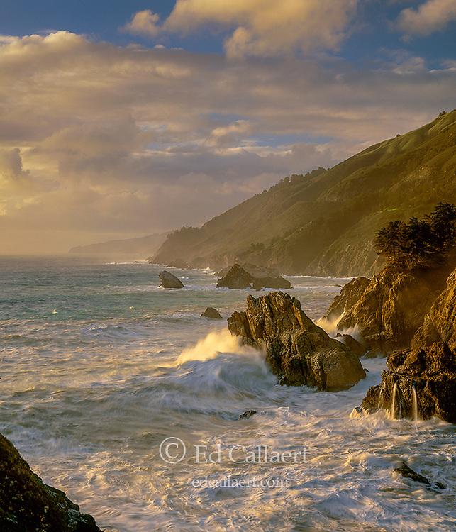 Surf, Pfeiffer-Burns State Park, Big Sur, Monterey County, California