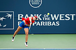 August 04, 2017: Ana Konjuh (CRO) was defeated by Garbine Muguruza (ESP) 6-1, 6-3 at the Bank of the West Classic being played at the Taube Tennis Stadium in Stanford, California.  ©Mal Taam/TennisClix/CSM