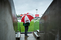 Conditions look bleak for the day at the Hampshire Bowl during India vs New Zealand, ICC World Test Championship Final Cricket at The Hampshire Bowl on 18th June 2021