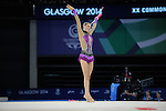 Commonwealth Games Rhythmic Individual Apparatus Final 26.7.14. Photos by Alan Edwards  www.f2images.com