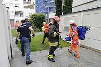 Milano 12/06/2016 - Esplosione in un palazzo di via Brioschi per una fuga di gas, tre le vittime