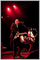 Mick Jones & Leo 'E-Zee Kill' Williams -<br /> <br /> Big Audio Dynamite perform at the Shepherds Bush Empire on the 2nd April 2011