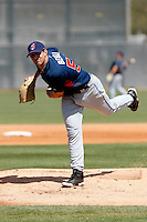 Eric Berger  -  Cleveland Indians - 2009 spring training.Photo by:  Bill Mitchell/Four Seam Images