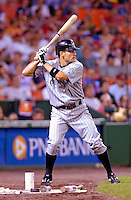 13 June 2006: Jamey Carroll, infielder for the Colorado Rockies, prepares in the on deck circle prior to an at bat against the Washington Nationals at RFK Stadium, in Washington, DC. The Rockies defeated the Nationals 9-2 in the second game of the four-game series...Mandatory Photo Credit: Ed Wolfstein Photo..