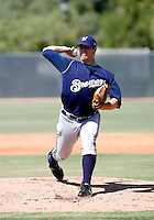 Cody Scarpetta / Milwaukee Brewers 2008 Instructional League..Photo by:  Bill Mitchell/Four Seam Images