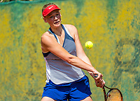 Hilversum, Netherlands, August 9, 2017, National Junior Championships, NJK, Evi Buijsen<br /> Photo: Tennisimages/Henk Koster