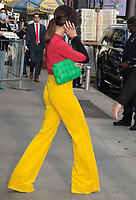 NEW YORK, NY- October 12: Victoria Beckham on Good Morning America promoting her new design clothing, shoes, handbags and make-up line in New York City on October 12, 2021. <br /> CAP/MPI/RW<br /> ©RW/MPI/Capital Pictures