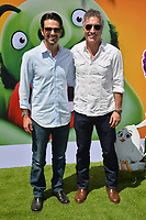 """LOS ANGELES, USA. August 10, 2019: Eyal Podell & Jonathon Stewart at the premiere of """"The Angry Birds Movie 2"""" at the Regency Village Theatre.<br /> Picture: Paul Smith/Featureflash"""