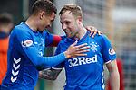 07.04.2019 Motherwell v Rangers: James Tavernier and Scott Arfield