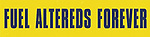 Fuel Altereds Forever bumper sticker