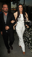 WEST HOLLYWOOD, CA, USA - MAY 15: Brian Bowen Smith, Demi Moore at the The De Re Gallery Grand Opening held at the De Re Gallery on May 15, 2014 in West Hollywood, California, United States. (Photo by Celebrity Monitor)