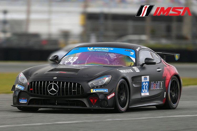 #33 Winward Racing Mercedes-AMG GT GT4, GS: Russell Ward, Indy Dontje