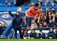 Andre Gomes of Everton in action during Chelsea vs Everton, Premier League Football at Stamford Bridge on 8th March 2020