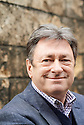 Alan Titchmarsh, broadcaster and writer at Oxford Literary Festival  at Christchurch College, Oxford  2014 CREDIT Geraint Lewis