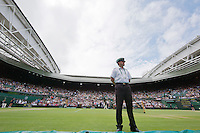 04-07-12, England, London, Tennis , Wimbledon,  Centercourt