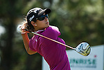 Azahara Munoz of Spain in action during the Day 4 of the LPGA Sunrise Taiwan Championship on at Sunrise Golf Course on October 23, 2011 in Taoyuan, Taiwan. Photo by Victor Fraile / The Power of Sport Images