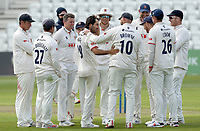 Shane Snater of Essex celebrates taking five wickets during Nottinghamshire CCC vs Essex CCC, LV Insurance County Championship Group 1 Cricket at Trent Bridge on 7th May 2021