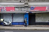 Closed down supermarket, Cricklewood, London.