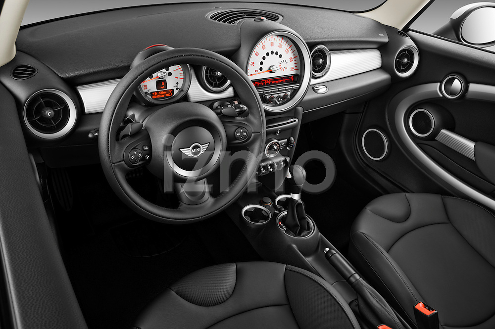 Driver Side dashboard view of a 2011 Mini Cooper Clubman S