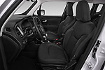 Front seat view of 2019 JEEP Renegade Limited 5 Door SUV Front Seat  car photos