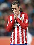 Atletico de Madrid's Diego Godin dejected during La Liga match. March 1,2016. (ALTERPHOTOS/Acero)